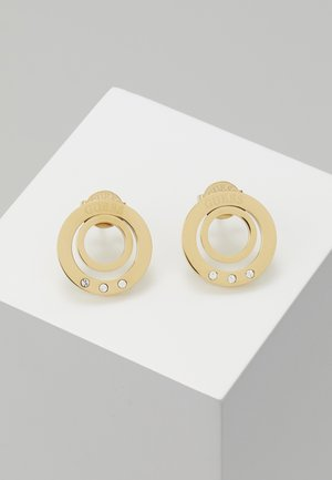 ETERNAL CIRCLES - Earrings - gold-coloured