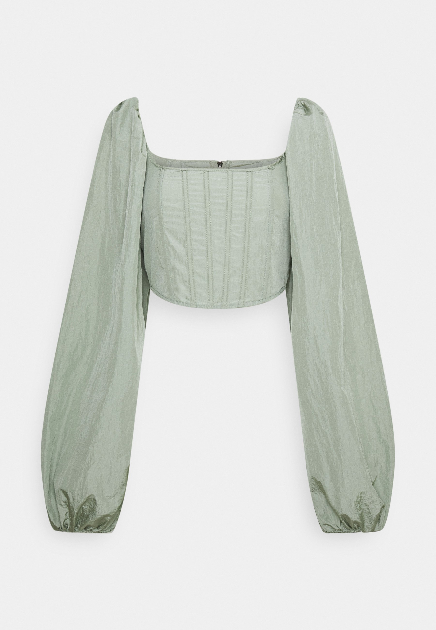 Women BALLOON SLEEVE CORSET - Long sleeved top