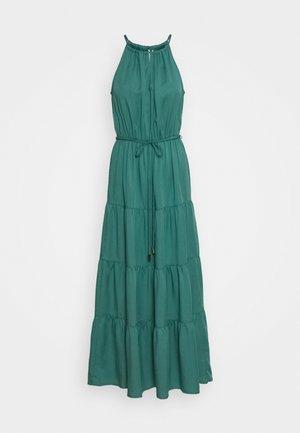ANNIE TIERED MAXI DRESS - Maxikjole - green teal