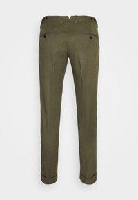 J.LINDEBERG - GRANT STRETCH PANTS - Chino kalhoty - lake green - 8