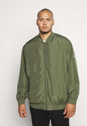 JORVEGAS JACKET - Bomberjacks - dusty olive