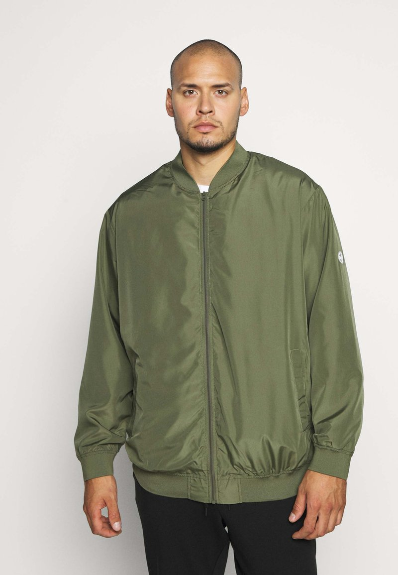Jack & Jones - JORVEGAS JACKET - Bomberjacks - dusty olive