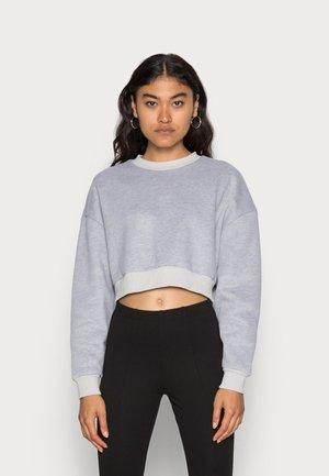 PHOEBE PANELLED BOXY - Sweater - grey