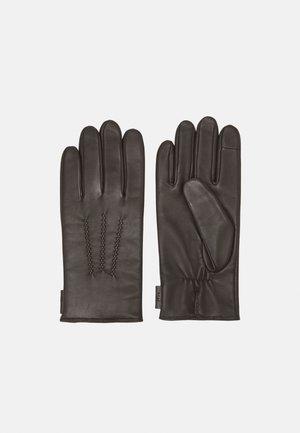 GARVIN UNISEX - Gloves - turkish coffee