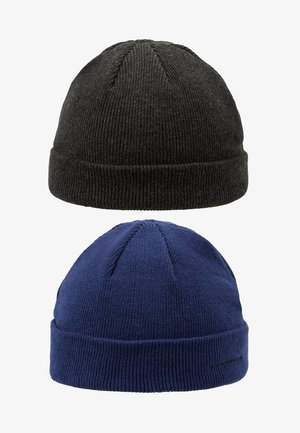 Bonnet - dark gray/dark blue
