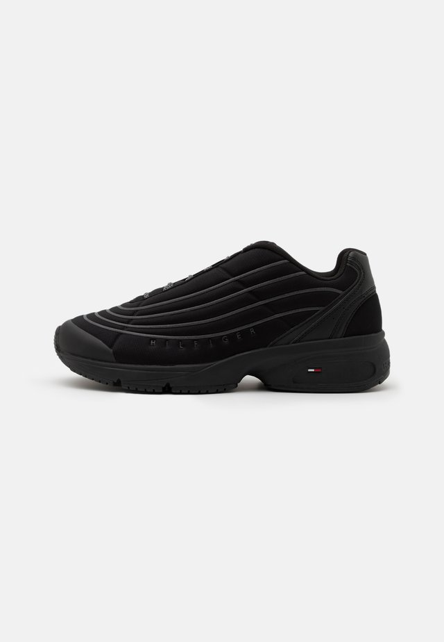 HERITAGE MIX REFLECTIVE - Sneakers basse - black