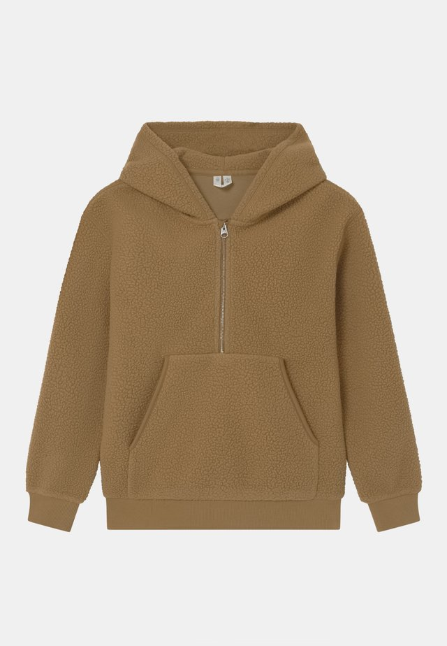 UNISEX - Fleece trui - beige dark