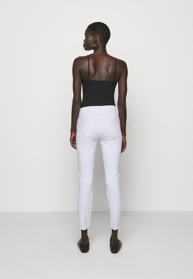 FLORENCE MID RISE INSTASCULPT ANKLE - Jeans Skinny Fit - milk