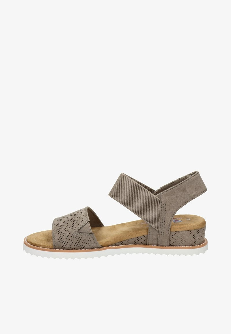 BOBS from Skechers - Wedge sandals - taupe