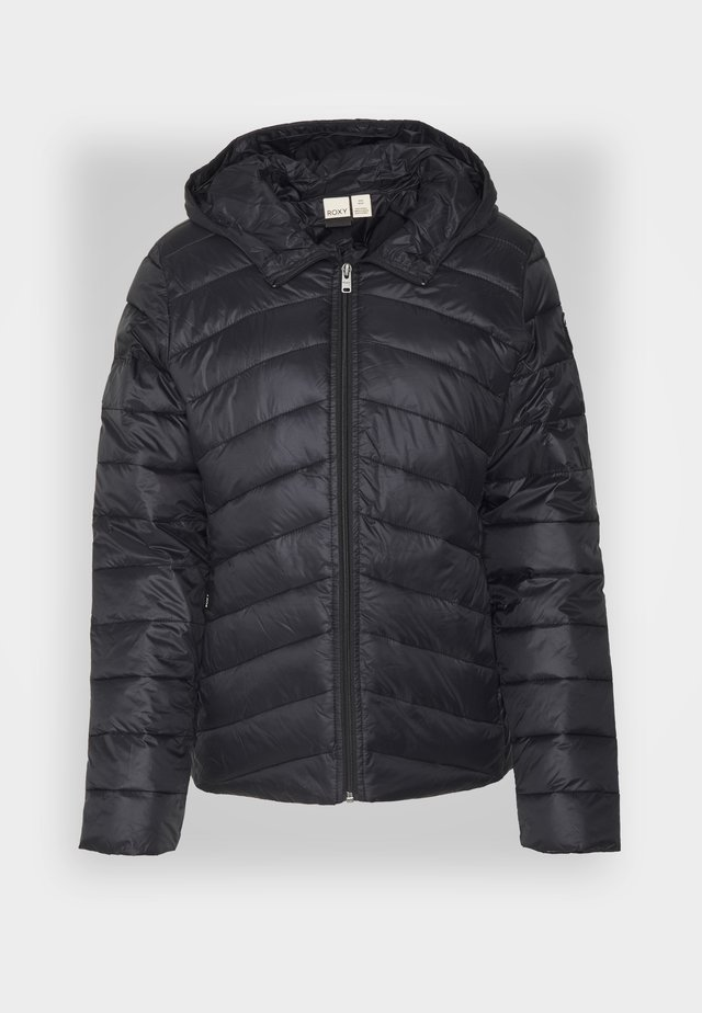 COAST ROAD HOODED - Chaqueta de entretiempo - anthracite