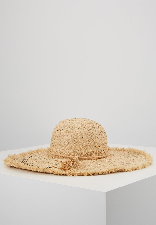 HAT - Cappello - light brown