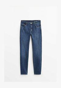 Massimo Dutti - Jeans fuselé - dark blue - 0