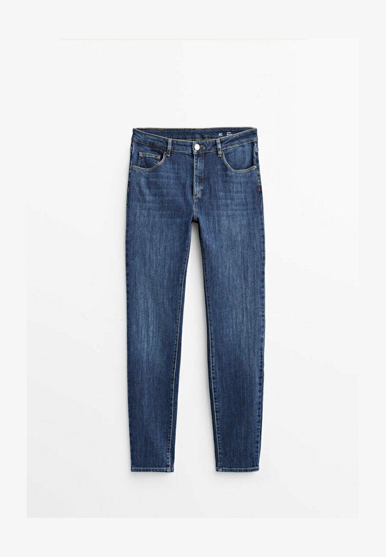 Massimo Dutti - Jeans fuselé - dark blue