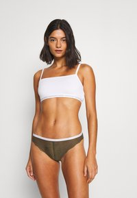Calvin Klein Underwear - BRAZILIAN - Braguitas - khaki - 1