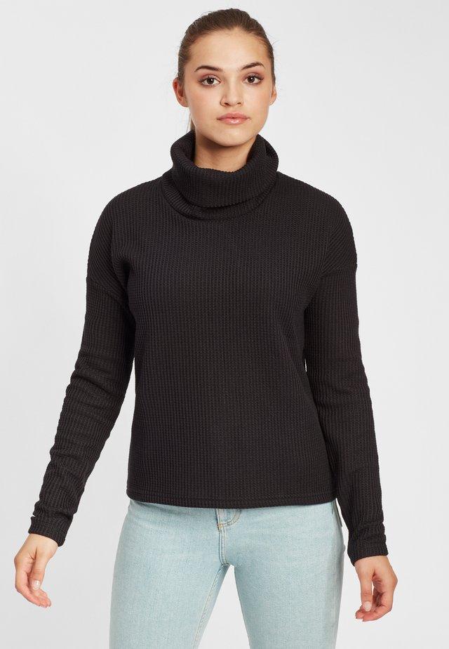 Chillin™ Fleece Pullover - Maglione - black thermal