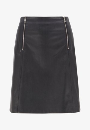 VALEGY - A-line skirt - black