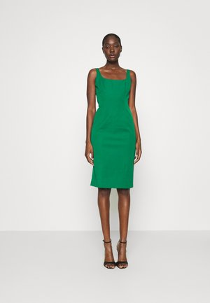 NECK SHEATH SOLID - Korte jurk - luscious green