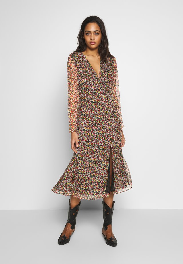 BROOKLYN MIDI DRESS - Korte jurk - sunrise bouquet