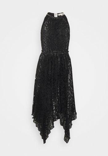 HALTER CHAIN - Vestito elegante - black