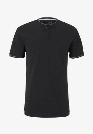 MIT STREHKRAGEN - T-shirt basic - black