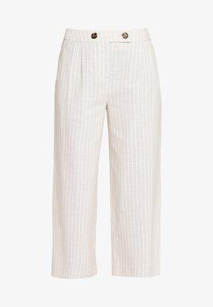 FRJALINEN PANTS - Trousers - cement mix