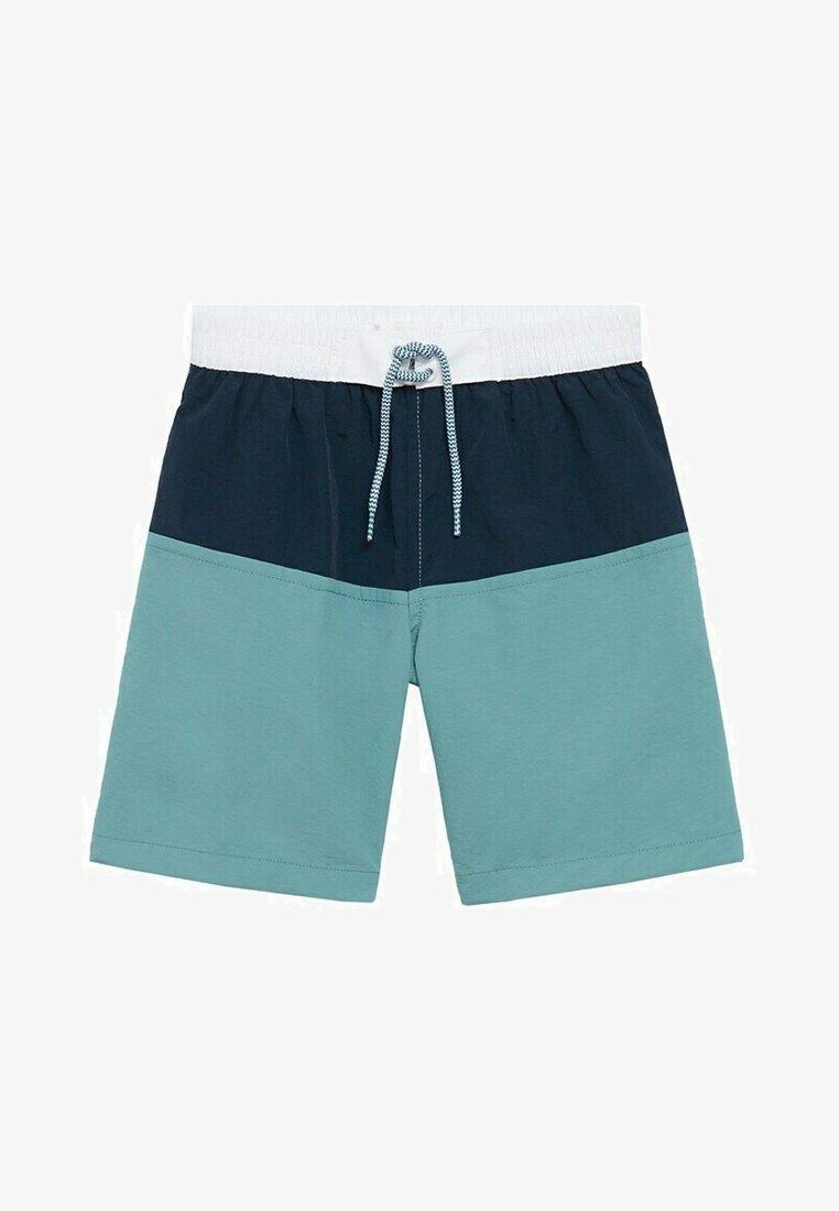Mango - BLOCK - Swimming shorts - marineblauw