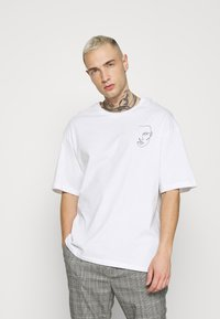 Jack & Jones - JORJACE TEE CREW NECK - T-shirt imprimé - white - 0