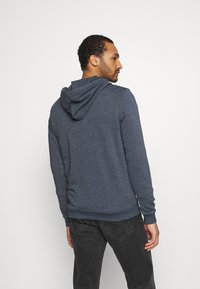 Jack & Jones - JJDELIGHT ZIP HOOD - Bluza rozpinana - navy blazer melange - 2