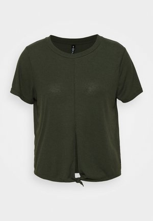 TIE UP  - Camiseta básica - khaki