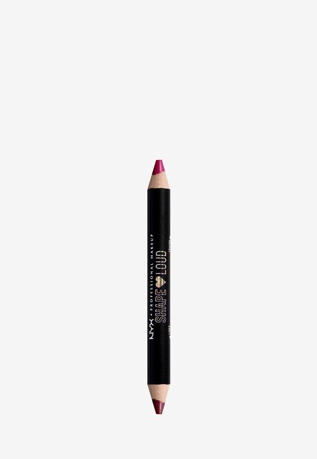 SHAPE LOUD MATTE LIP DUO - Lipstick - 3 scene kween