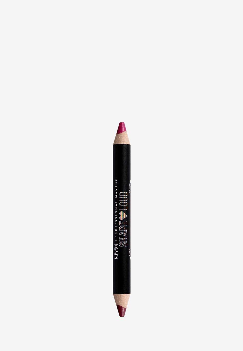 Nyx Professional Makeup - SHAPE LOUD MATTE LIP DUO - Lipstick - 3 scene kween