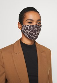 LIU JO - KIT MASCHERINA 2 PACK - Maschera in tessuto - black/beige - 3