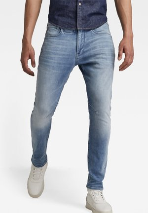 D-STAQ 3D SLIM - Slim fit jeans - vintage beryl blue