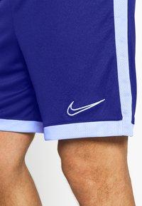 Nike Performance - DRY ACADEMY SHORT  - Sports shorts - deep royal blue/armory blue/white - 4