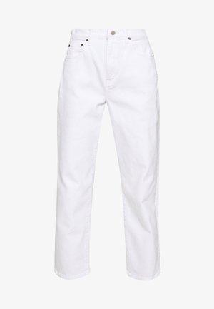 FINN ANKLE - Džíny Straight Fit - sustainable white