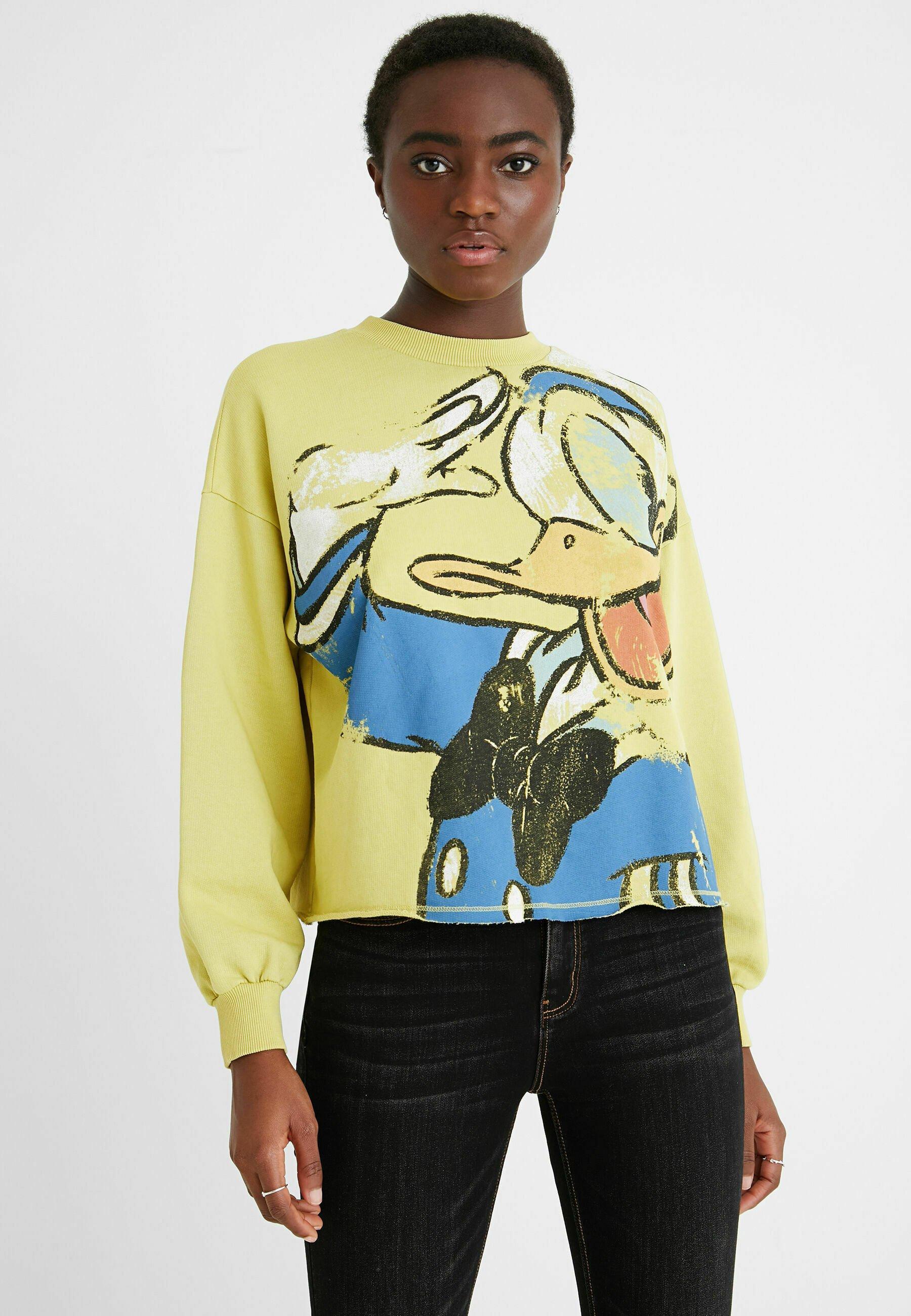 Damen ILLUSTRATION FRAYED - Sweatshirt