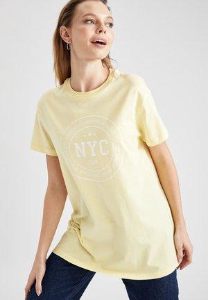 Camiseta estampada - yellow