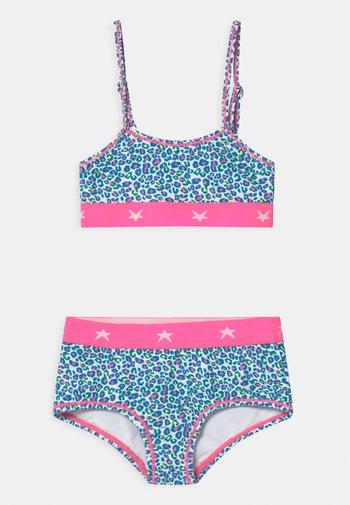 GIRLS TRIANGLE SET - Bikini - light blue
