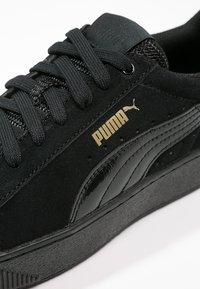 Puma - VIKKY PLATFORM - Sneaker low - puma black - 6