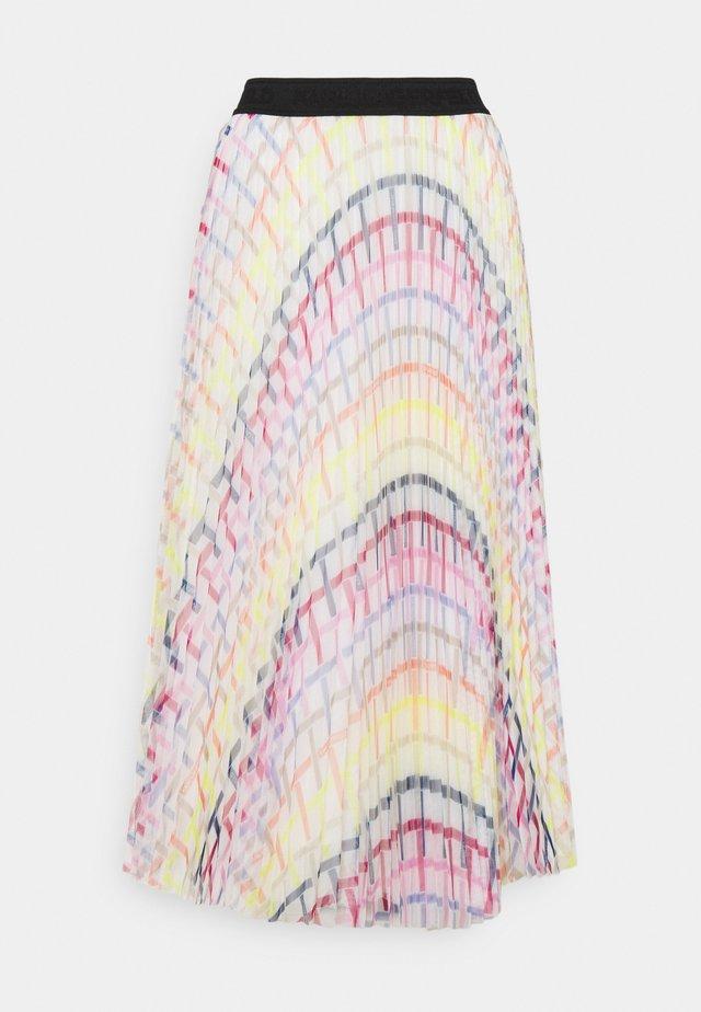 PRINTED PLEAT SKIRT - A-lijn rok - multi-coloured