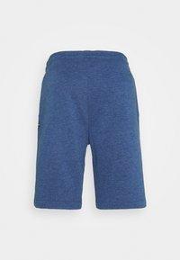 TOM TAILOR - Shorts - after dark blue/white melange - 1