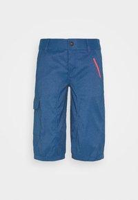 BIKESHORTS SEEK - 3/4 sportovní kalhoty - ocean blue