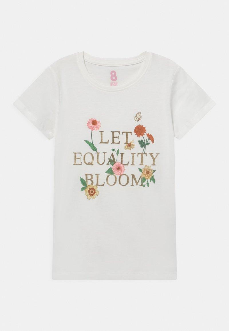 Cotton On - PENELOPE SHORT SLEEVE TEE - Print T-shirt - vanilla