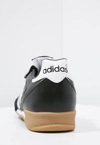 adidas Performance - KAISER 5 GOAL - Zaalvoetbalschoenen - black/running white - 3