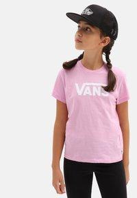 Vans - GR FLYING V  - T-shirt print - orchid - 0