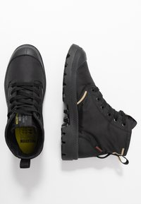 Palladium - PAMPA LITE+ WP+ UNISEX - Lace-up ankle boots - black - 1