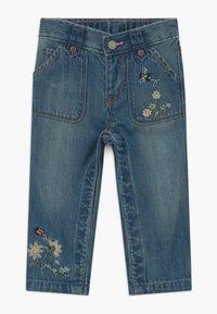 GAP - Straight leg jeans - blue denim - 0
