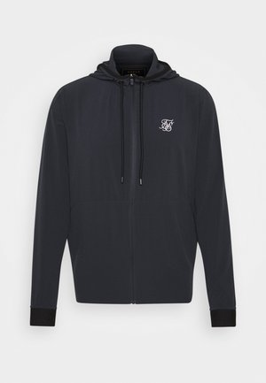 AGILITY ZIP THROUGH HOODIE - Korte jassen - midnight navy
