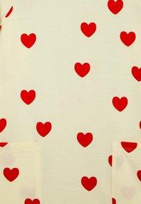 Mini Rodini - HEARTS DRESS - Jersey dress - off white - 2