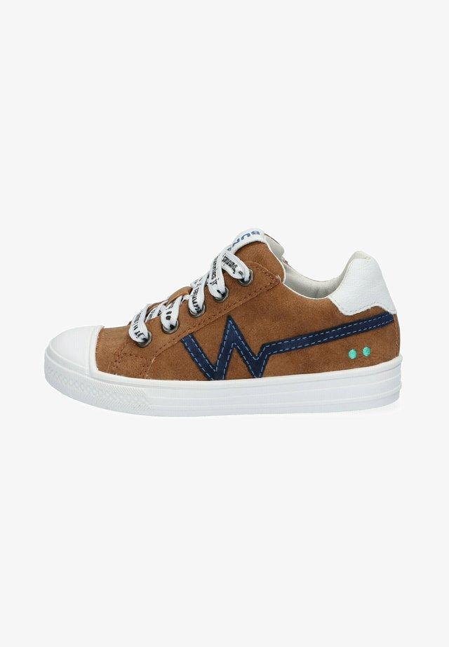 ANIMAL FRIENDLY - Sneakers laag - brown
